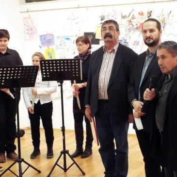 2016.12.08. Tatai Tibor tanítványai, Hetedik év a Műhelyben, című kiállítás megnyitója
