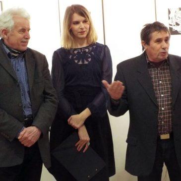 2018.02.08. Kovács Keve üveg és grafikusművész _Az török áfium ellen című kiállítás megnyitó